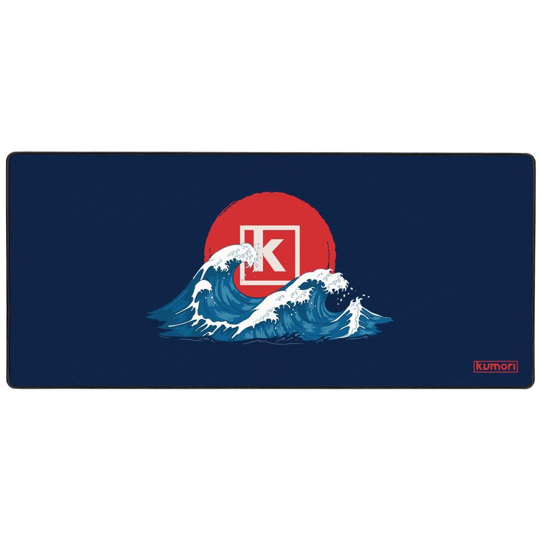 Deskmat Kumori Waves