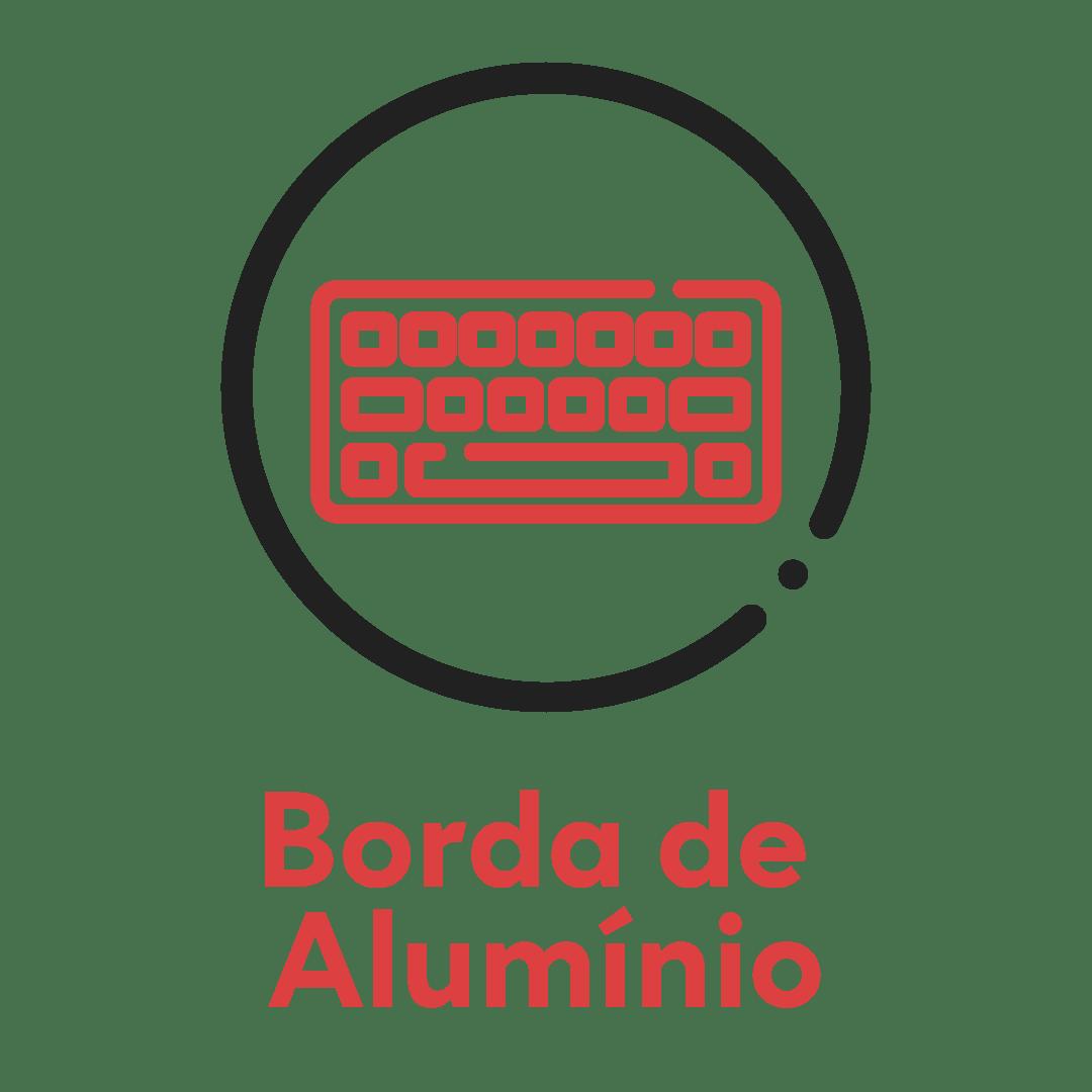 Borda de Alumínio